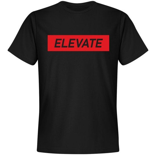 Image of Elevate Tee- Black