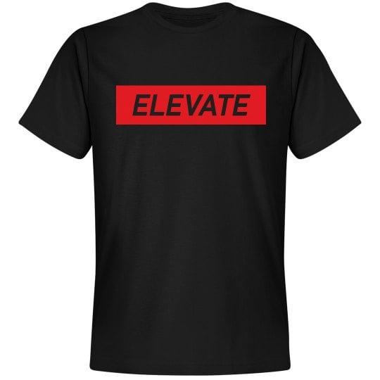 Image of Elevate Tee- Black