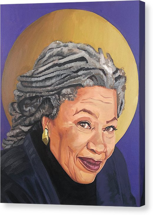 "Image of ""Toni Morrison"" Limited Edition Canvas Prints"