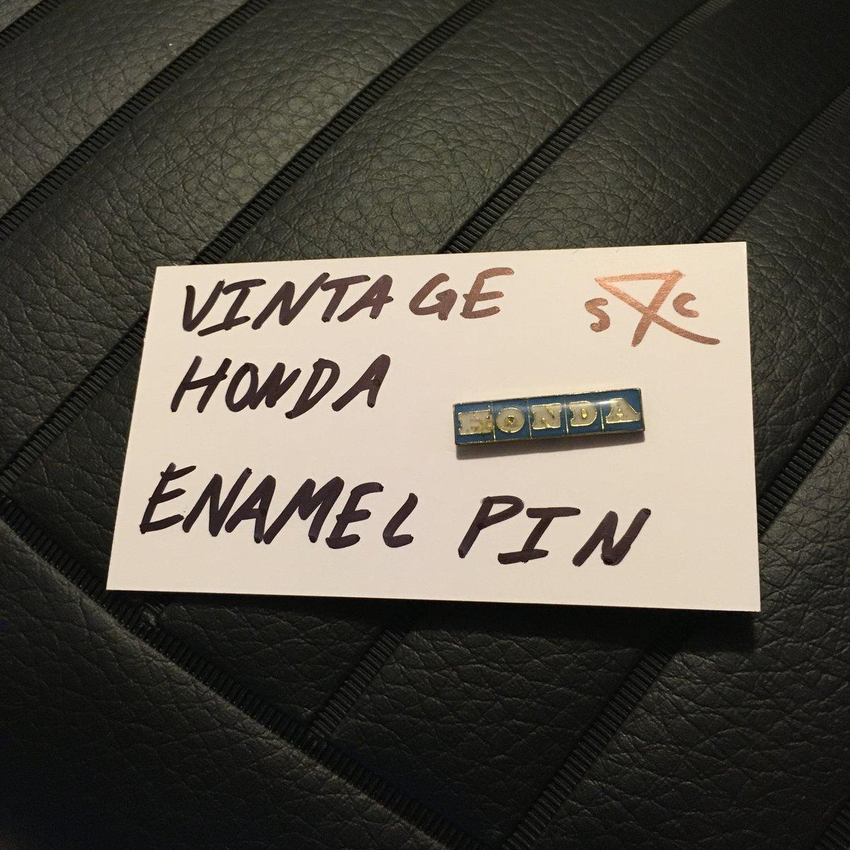 Image of Vintage Honda Enamel Pins