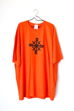 Image of get to poppin tee in orange