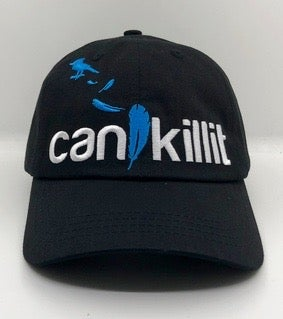 "Image of Bluebird ""Can I Kill It"" Logo Dad Hat"