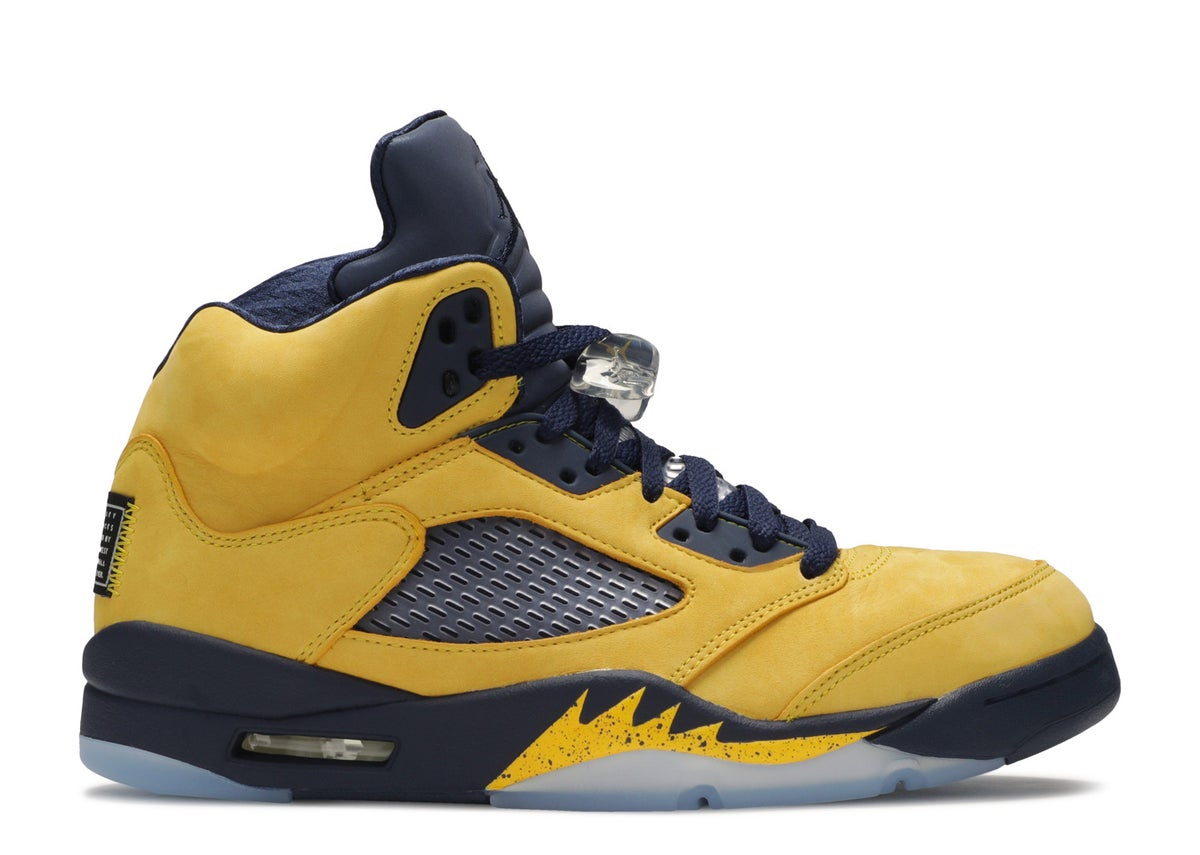 "Image of AIR JORDAN 5 RETRO SP ""MICHIGAN"""
