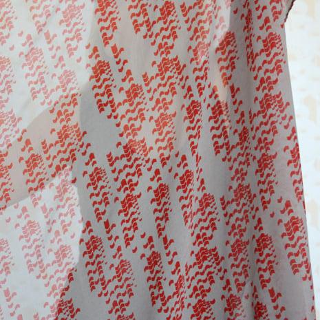Image of Arrow Print  Silk Crepe Scarf