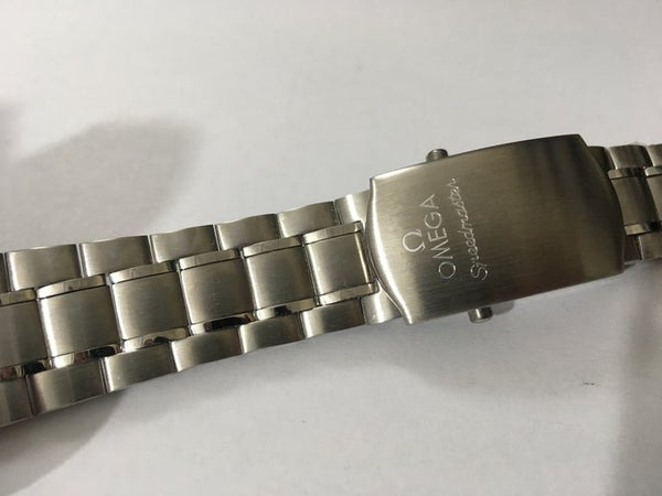 Image of OMEGA SPEEDMASTER SPORTS stainless steel gents watch strap 22mm [OST-5]