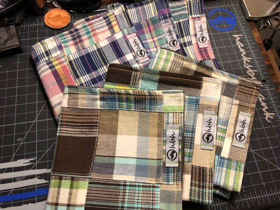 Image of Patchwork plaid