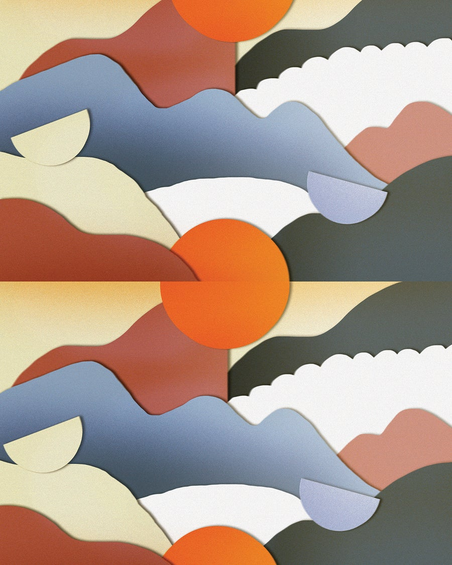 Image of Sun Print