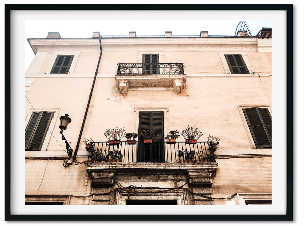 Image of BALCONIES OF ROMA
