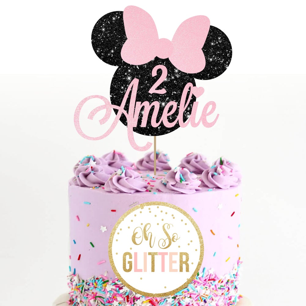 Image of Minnie Mouse Cake Topper