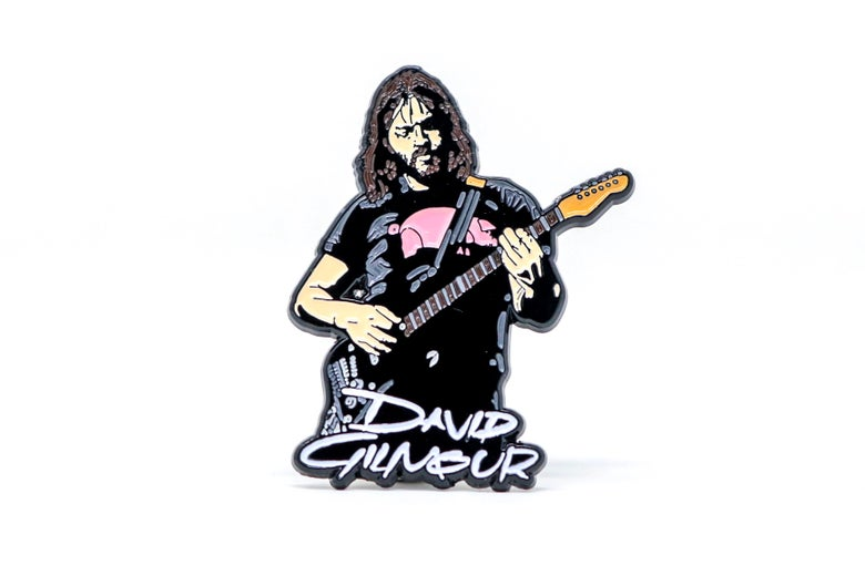 Image of David Gilmour Enamel Pin