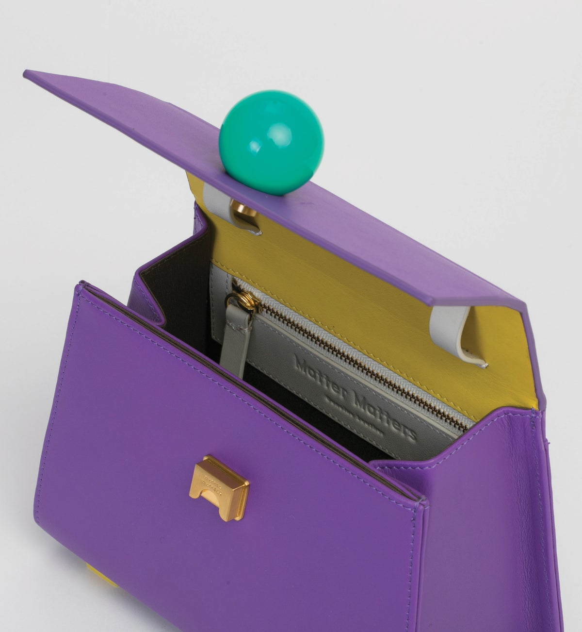 Image of Mini Trapezoid belt bag • Purple