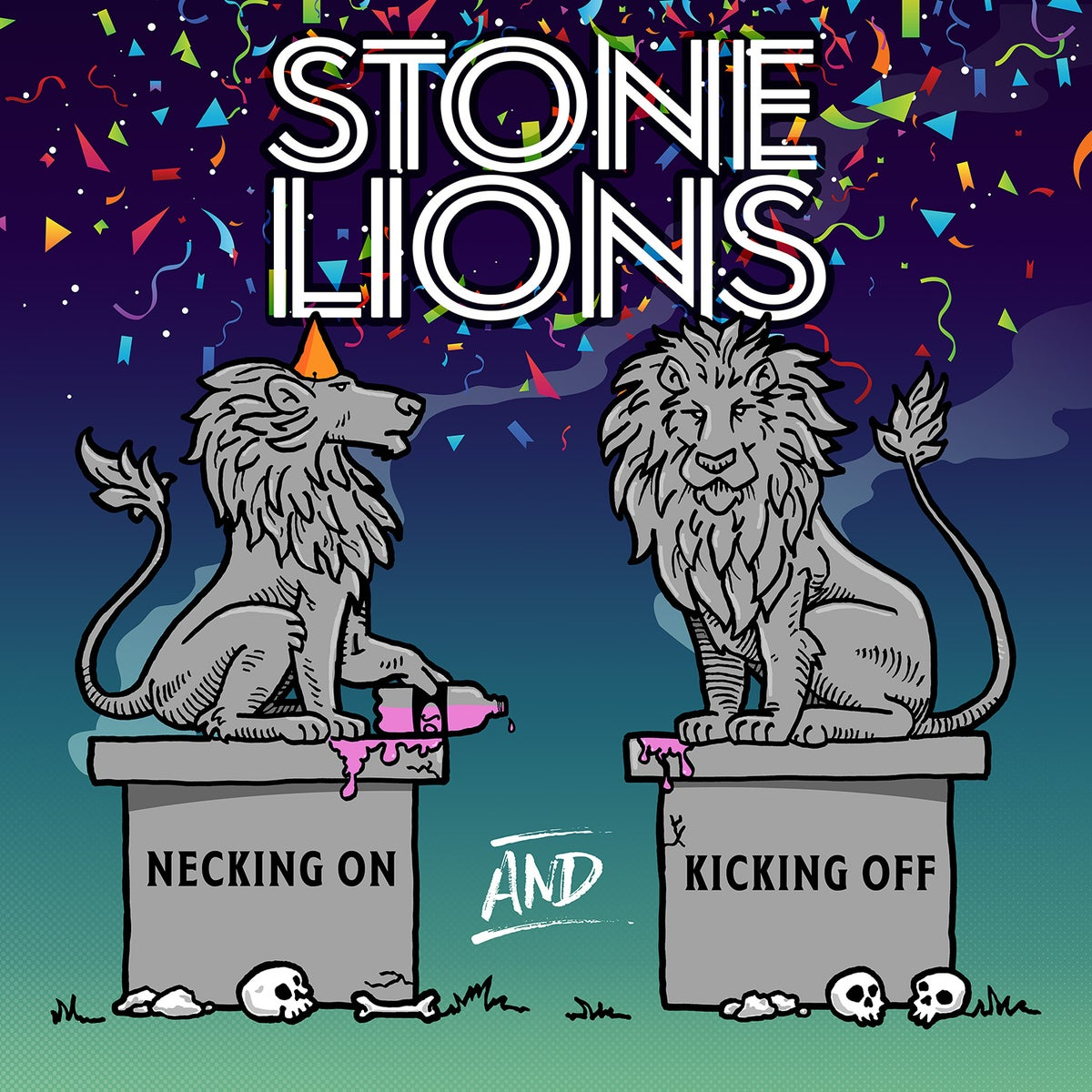 Stone Lions - Necking On And Kicking Off