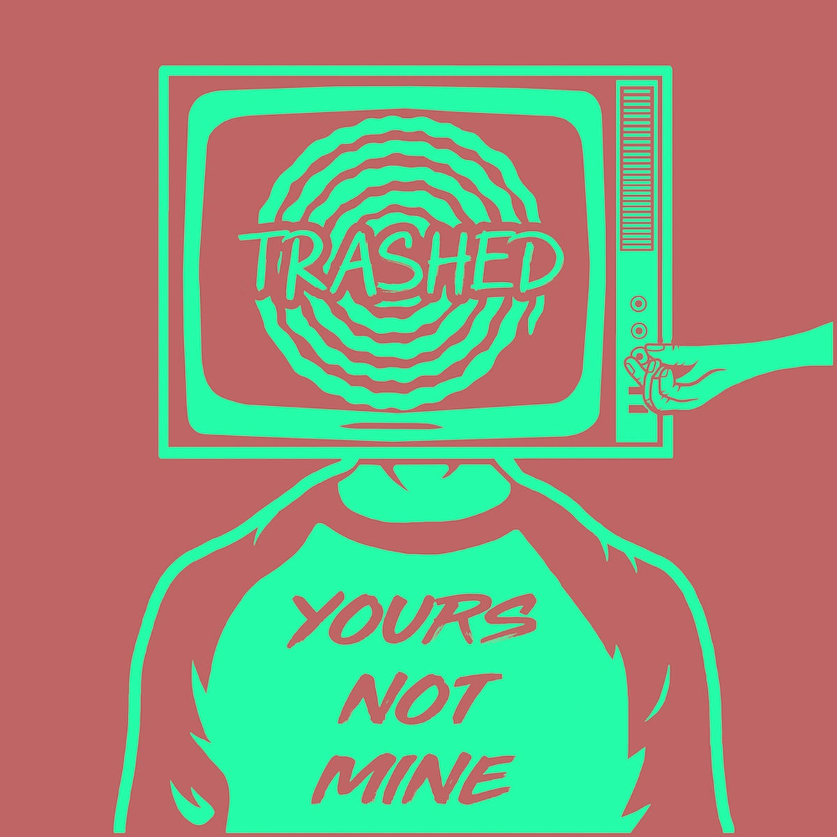 Image of 'YOURS NOT MINE' EP