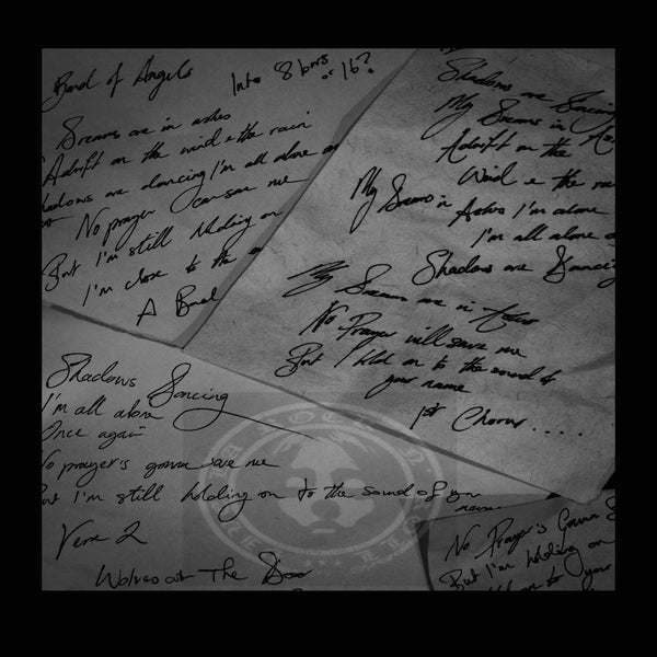 Image of Handwritten Lyrics