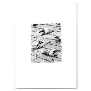 Image of Bricks, Claws and Flies print