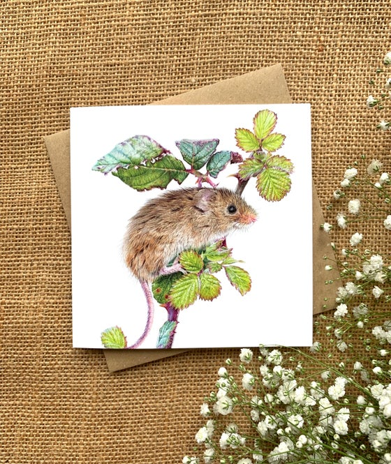 Image of 'Bramble' Greetings Card