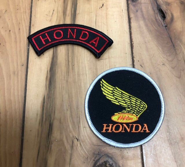 Image of Vintage Honda Patches