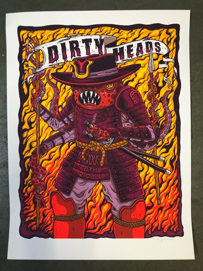 Image of Dirty Heads - August 8th, 2019 - Dallas, TX - Artist Edition