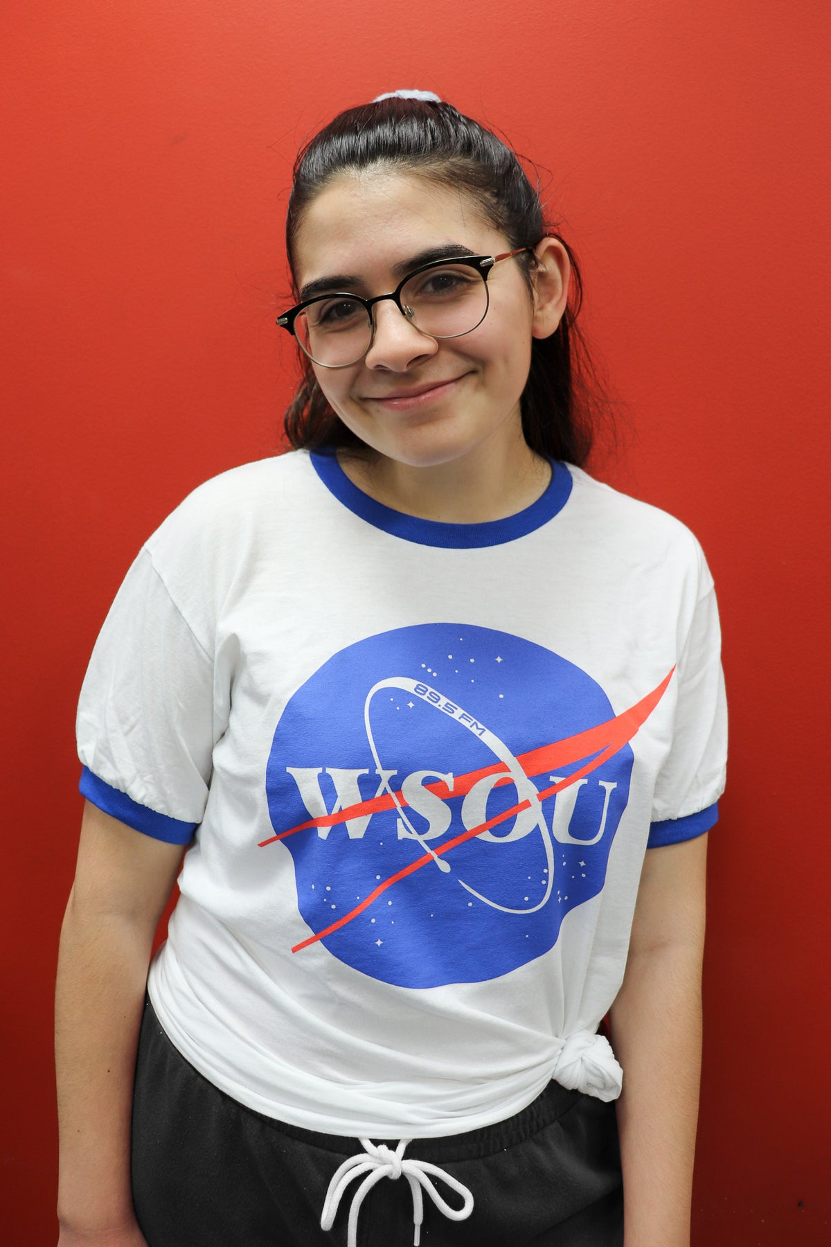 Image of WSOU's Universe Ringer Tee