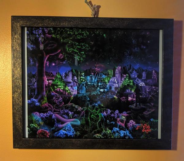"""Image of """"FutuRetro Dreams"""" - 11"""" x 13"""" Gallery Print"""
