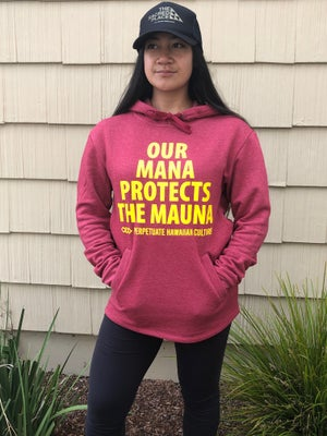 Image of Mana Protects the Mauna Hoody (unisex adult)