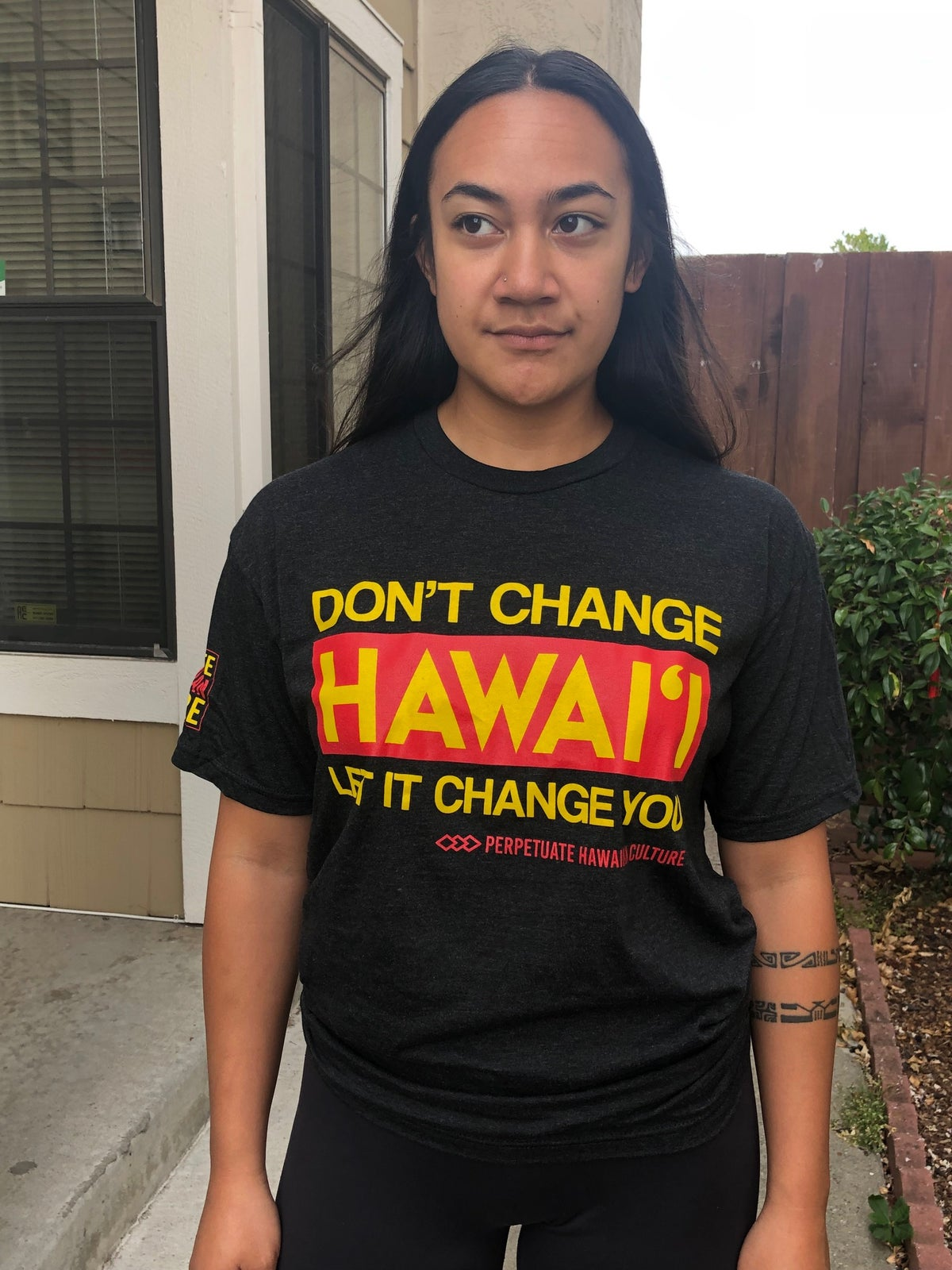 Image of Don't Change Hawai'i Adult Shirt (unisex)
