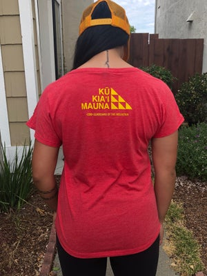 Image of The Sacred Place Red Shirt (women's)