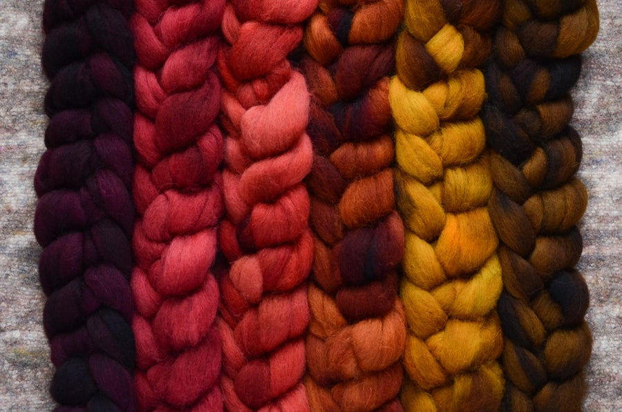 Image of July Fiber Club Coordinate Pack- PRE-ORDER - OPEN TO ALL - 6 oz.
