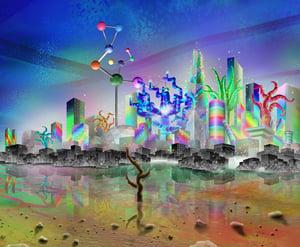 "Image of Deserted Digital - 11"" x 13"" Gallery Prints"