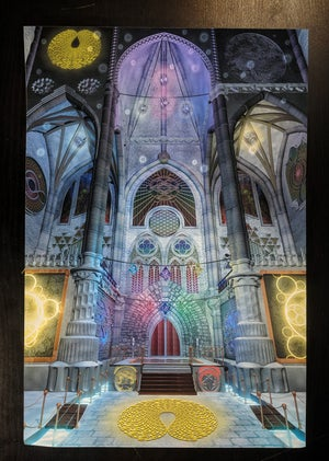 "Image of Cathedral of Consciousness 12"" x 18"""