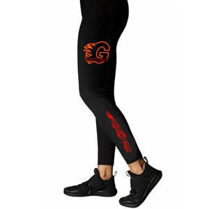 Image of GODDESS ON FIRE LEGGINGS | EXCLUSIVE GODDESS SUMMER COLLECTION