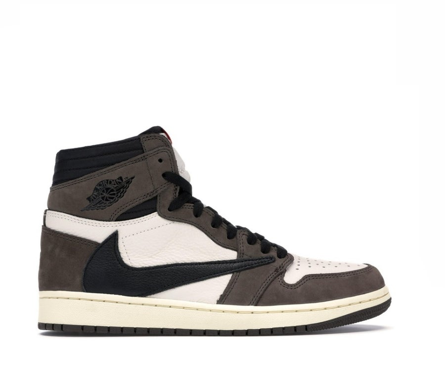 Image of NIKE AIR JORDAN 1 X TRAVIS SCOTT RETRO HIGH CD4487-100