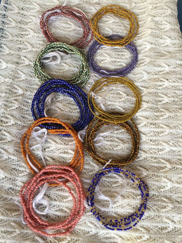 Image of Traditional, Authentic Ghanaian Waist Beads