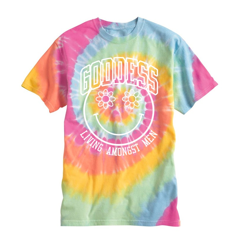 Image of GODDESS SUMMER TIE DYE TEE | EXCLUSIVE GODDESS SUMMER COLLECTION