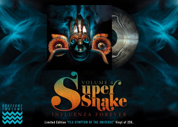 Image of Super Snake - Volume 4: Influenza Forever vinyl
