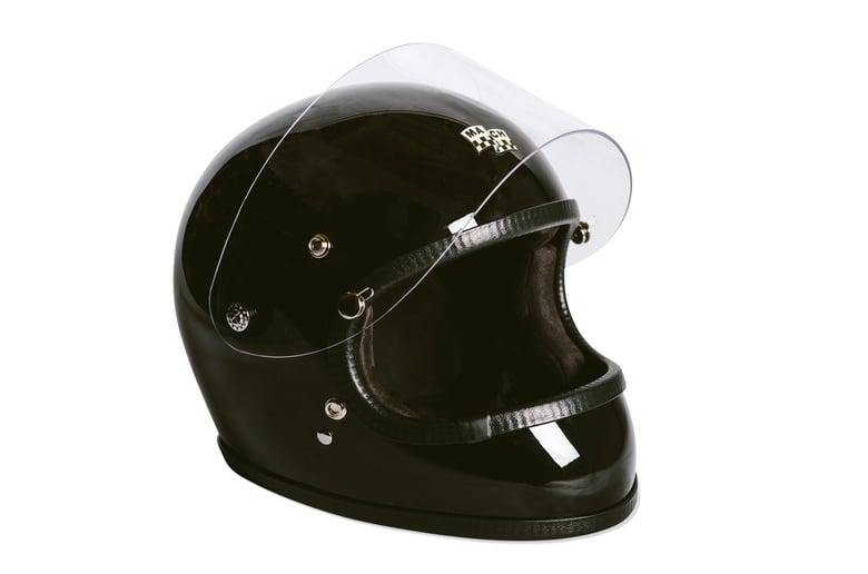 Image of McHal Apollo Full Face Helmet - Gloss Black