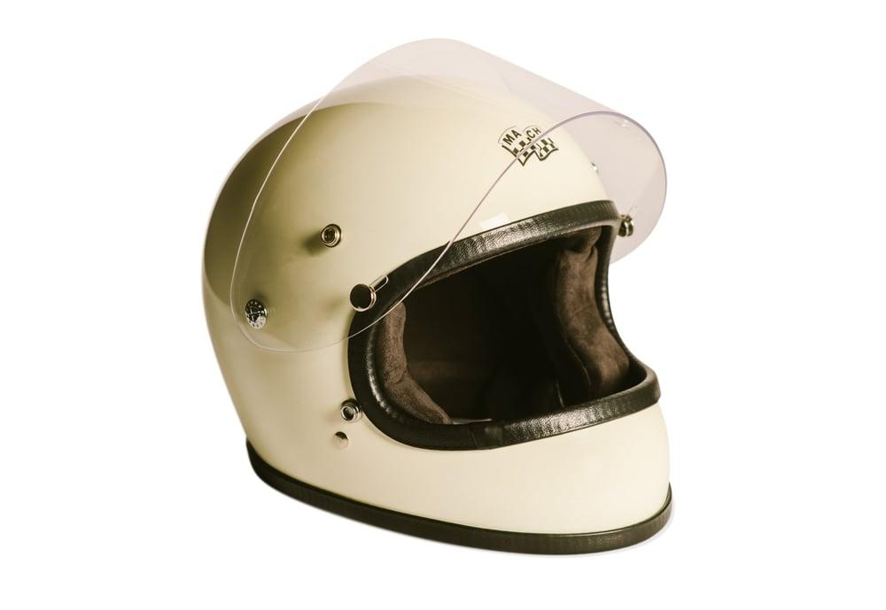 Image of McHal Apollo Full Face Helmet - Ivory