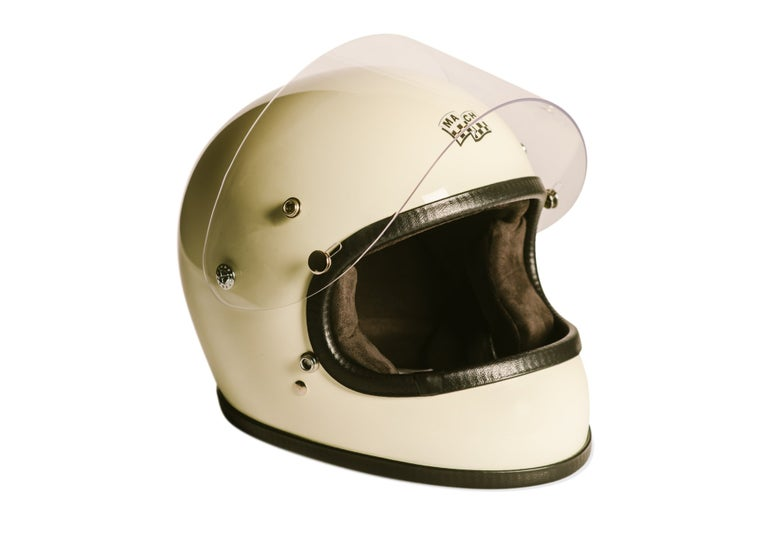 Image of McHal Apollo Full Face Helmet - Ivory