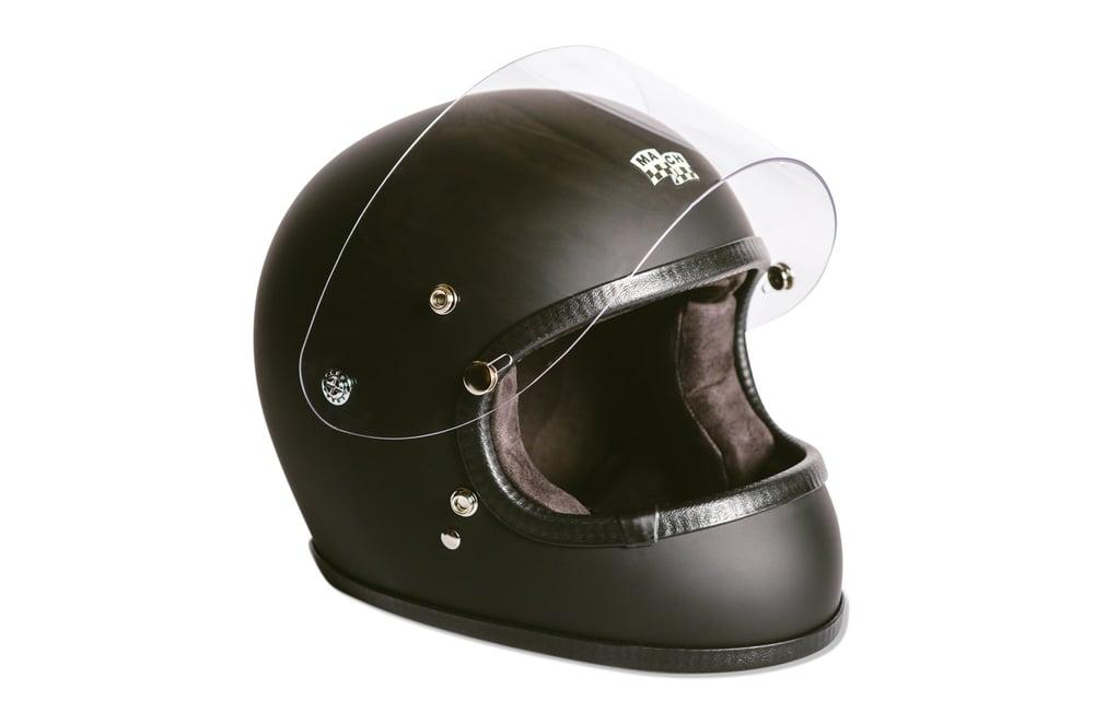 Image of McHal Apollo Full Face Helmet - Matte Black