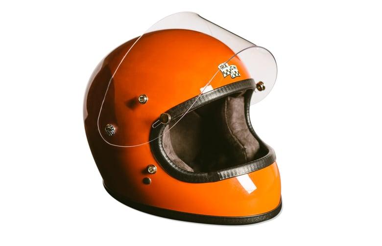 Image of McHal Apollo Full Face Helmet - Orange