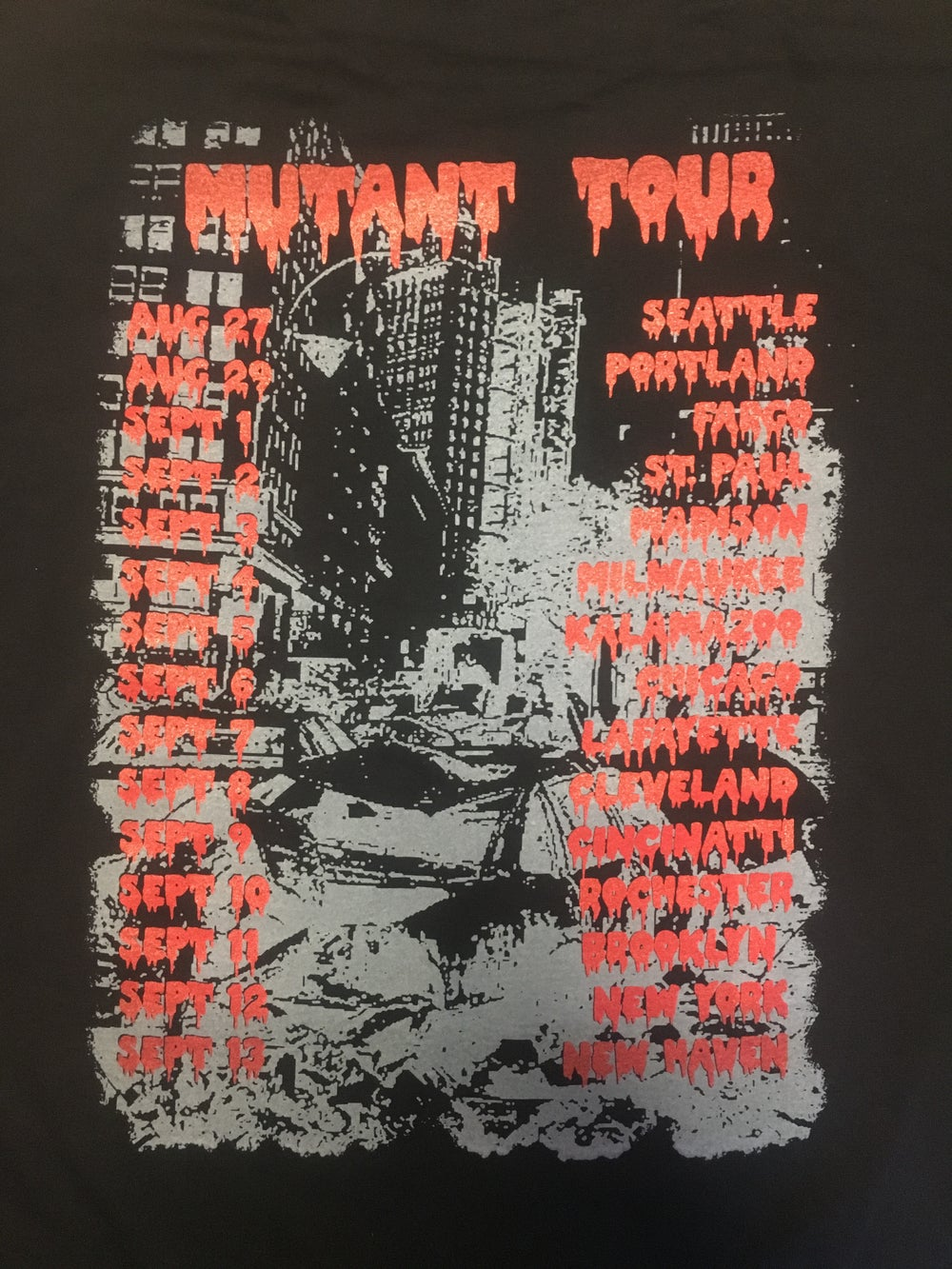 Image of SPITS IV 2 SIDED TOUR SHIRT