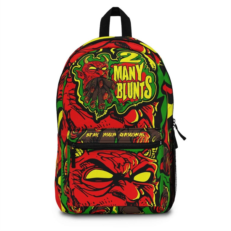 Image of 2 MANY BLUNTS BACKPACK