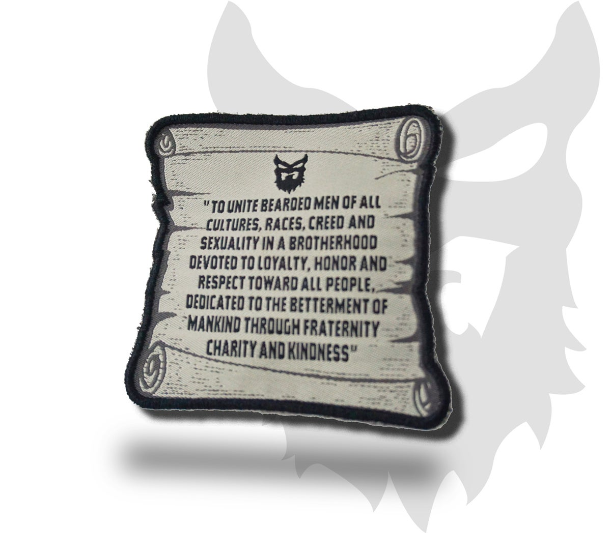 "Image of "" STATEMENT SCROLL "" Collectible Patch"