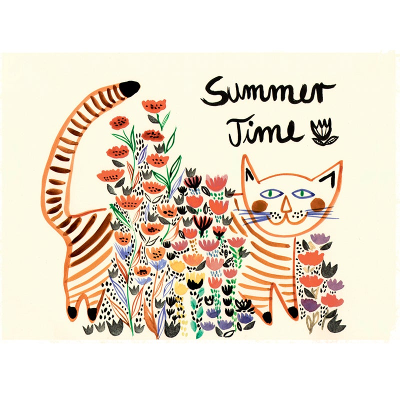 Image of Summer Time, 12x16 Print