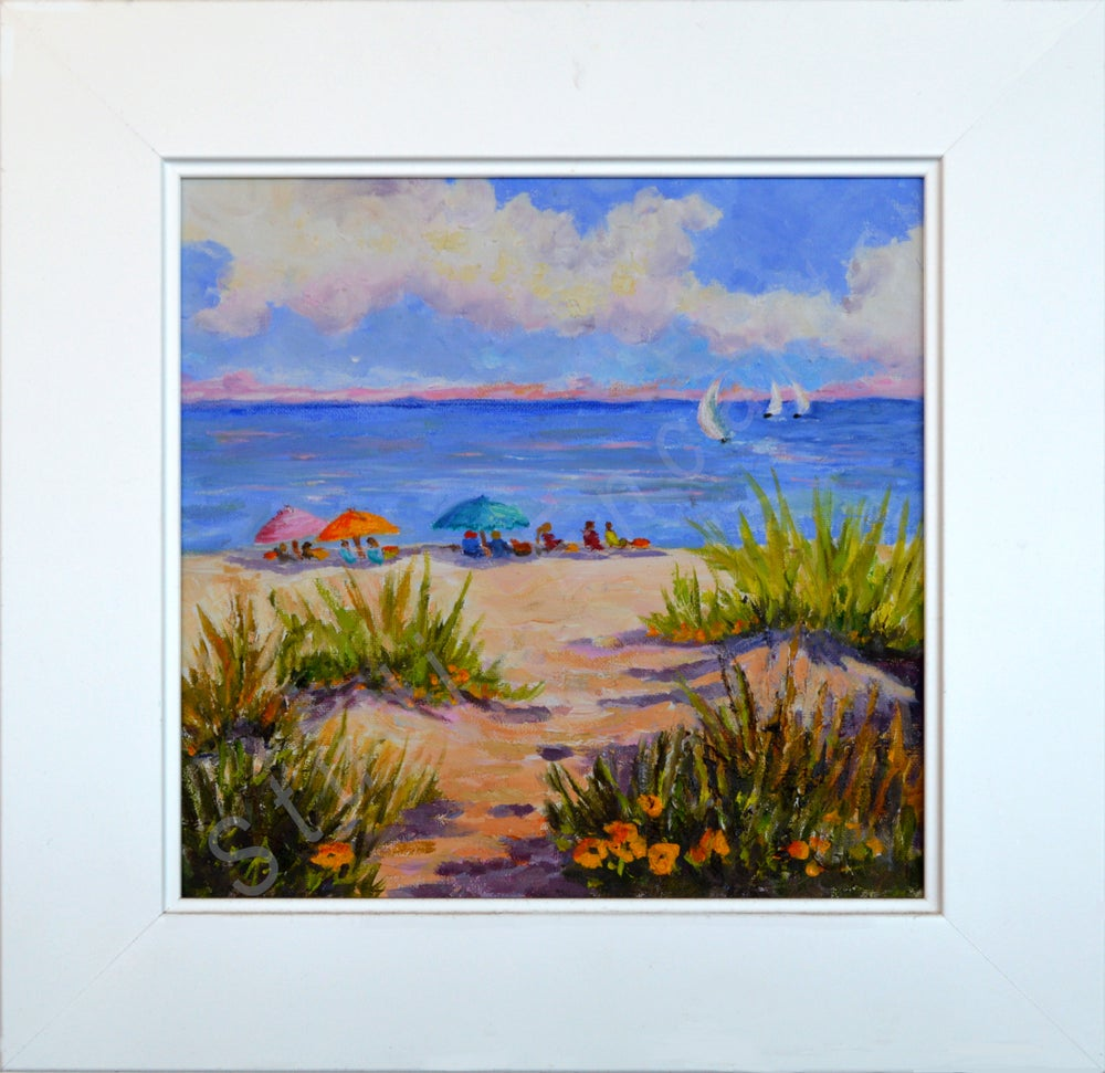 Image of Beach Picnic by Mary Rose Holmes