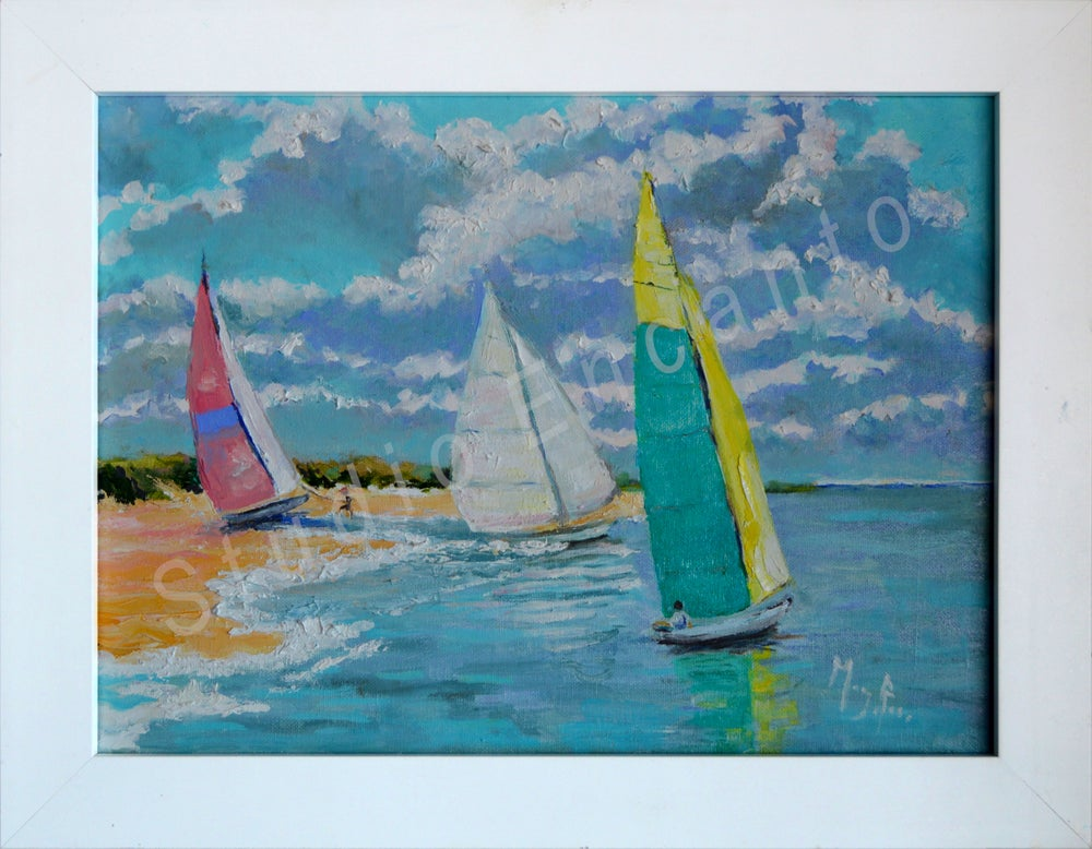 Image of Ready to Sail by Mary Rose Holmes