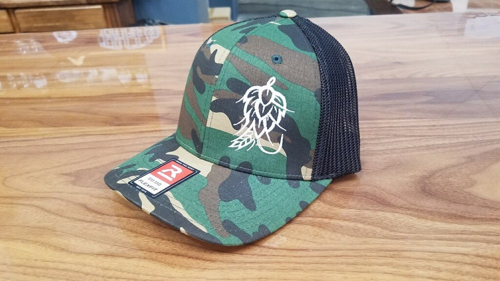 Image of Camo Hop Fly Hat