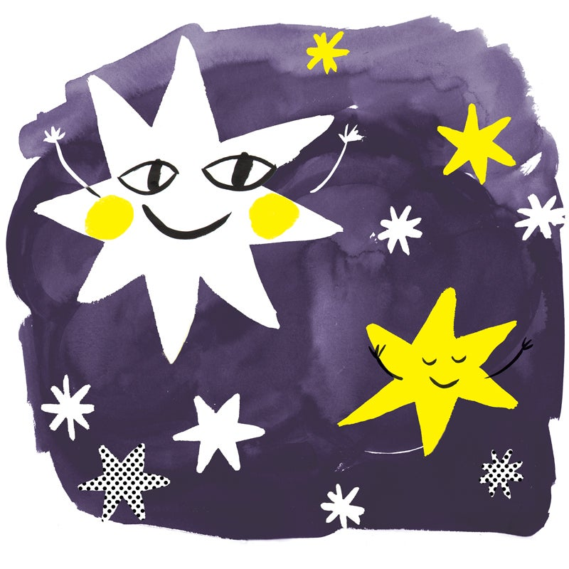 Image of Star, 12x12 Print