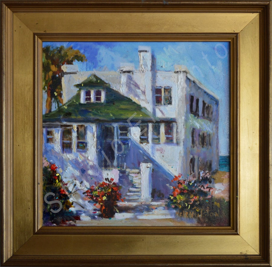 Image of Historic White House by Helen Tilston