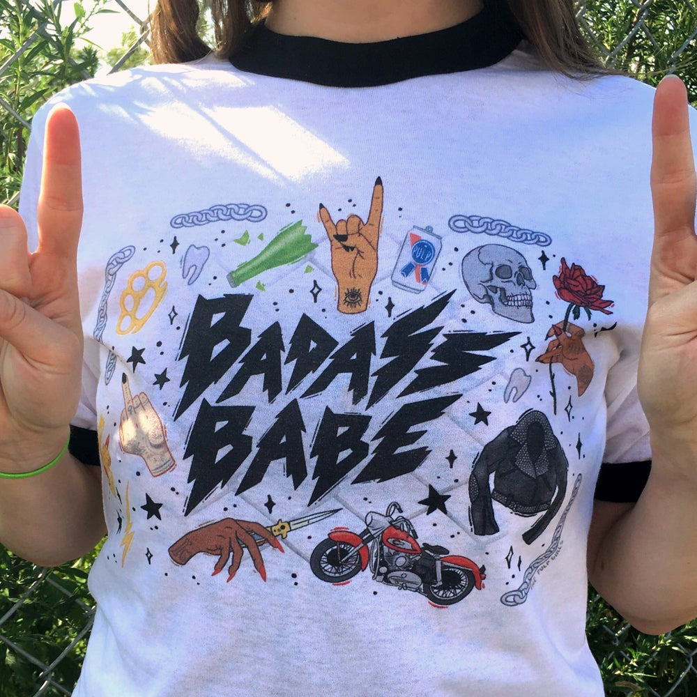 Image of BADASS BABE TEE